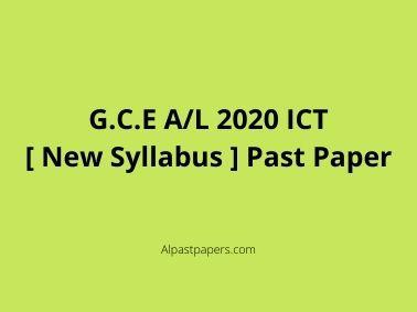 A_L-2020-ICT-New-Syllabus-Past-Paper