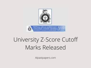 University Z-Score Cutoff Marks Released