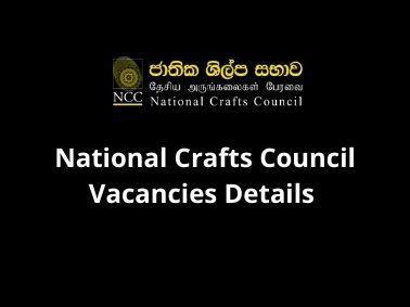 National-Crafts-Council-Vacancies-Details-