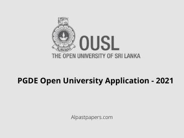 PGDE-Open-University-Application-2021