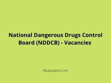 National Dangerous Drugs Control Board (NDDCB) - Vacancies