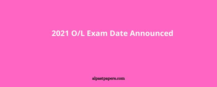 2021 OL Exam Date February 21, 2022 Announced