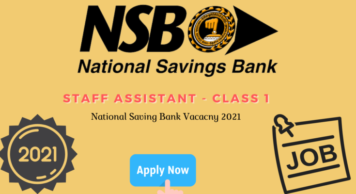 Staff Assistant - Class 1